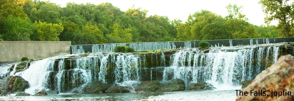 The Falls just west of Joplin, MO, Credit Kelly Lawson